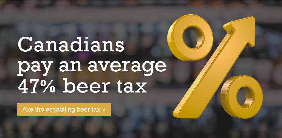 Axe the escalating beer tax