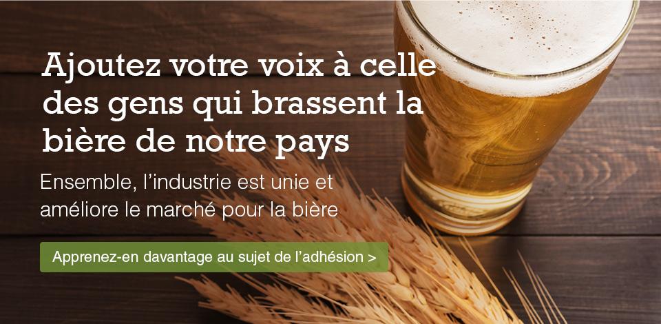 Beer Canada and membership - FR